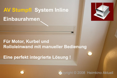 System Inline Einbaurahmen