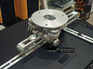 Heimkino-Aktuell Alu-Professional Deckenhalter 105-125mm