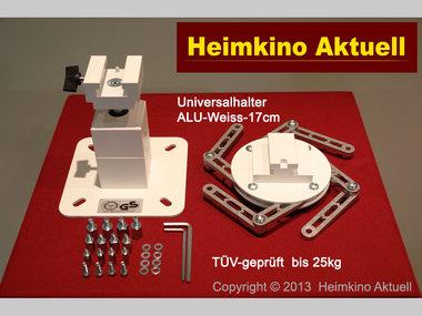 Deckenhalter Heimkino-Aktuell-Quadrat-17 mit 17cm Länge