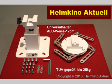 deckenhalter heimkino aktuell quadrat 17 mit 17cm l nge. Black Bedroom Furniture Sets. Home Design Ideas