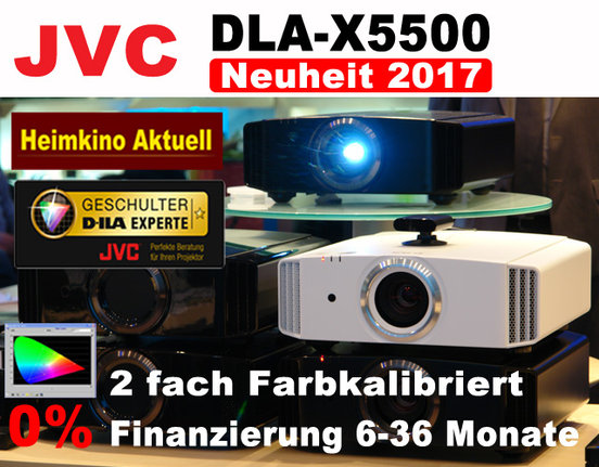 JVC DLA-X5500 Heimkino Aktuell Edition schwarz