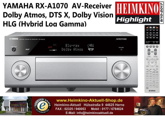 Yamaha RX-A1070 AV-Receiver titan