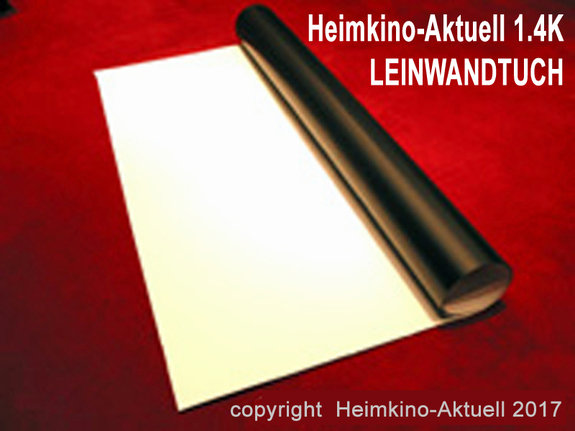 Heimkino-Aktuell 1.4K Leinwandtuch