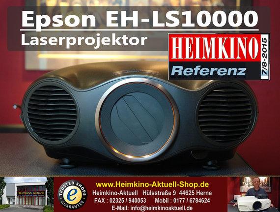 Epson EH-LS10000 LCD Laserbeamer (Rückläufer mit 40 Stunden)