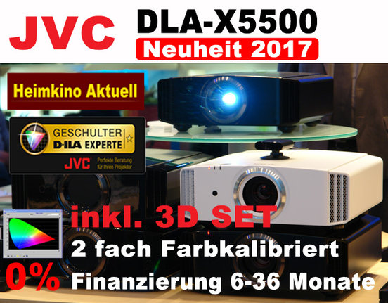 JVC DLA-X5500 Heimkino Aktuell Edition Sparpaket