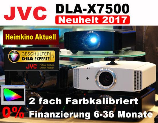 JVC DLA-X7500 Heimkino Aktuell Edition weiss