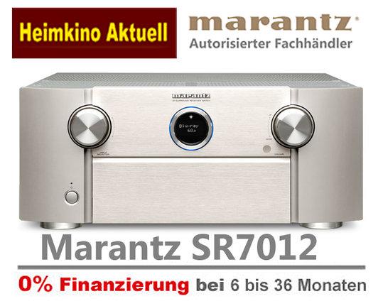 Marantz SR7012 silber-gold