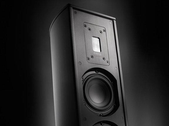 Piega Premium 501 schwarz eloxiert (Paarpreis)