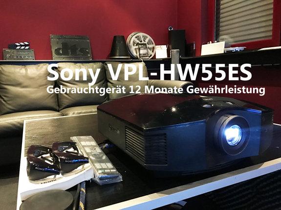 Sony VPL-HW-55 Heimkino-Aktuell-Edition schwarz (Gebrauchtgerät)