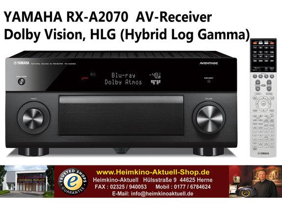 Yamaha RX-A2070 AV-Receiver schwarz