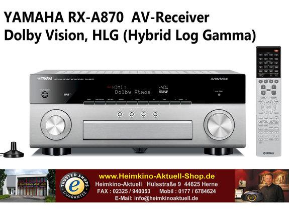 Yamaha RX-A870 AV-Receiver titan