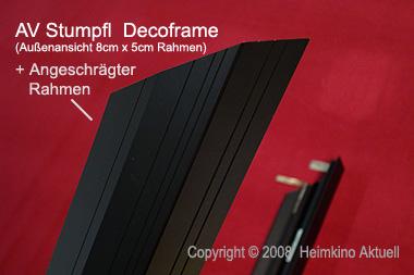 rahmenleinwand 180cm x 101cm 16 9 format heimkino. Black Bedroom Furniture Sets. Home Design Ideas